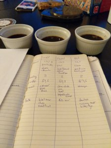 coffee cupping taste notes BaristaClub